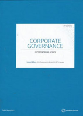 Corporate Governance: Jurisdictional Comparisons (2ed)