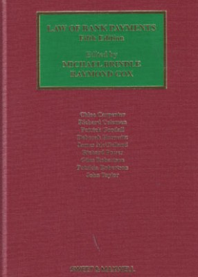 Law of Bank Payments (5ed)