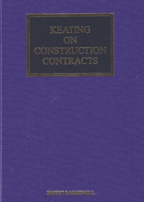 Keating on Construction Contracts (10ed) with Supplement 3 SET