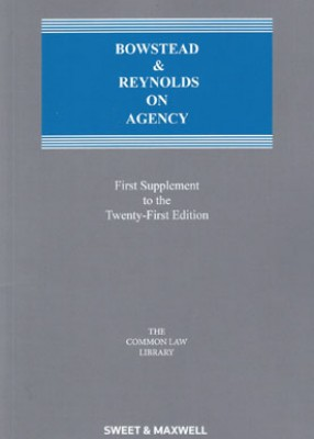 Bowstead and Reynolds on Agency (21ed) First supplement