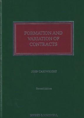 Formation and Variation of Contracts (2ed)
