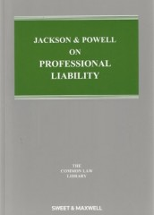 Jackson & Powell on Professional Liability (8ed) 2nd Supplement