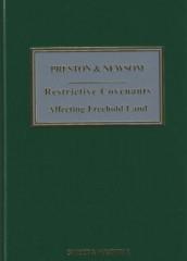 Preston & Newsom: Restrictive Covenants Affecting Freehold Land (11ed)
