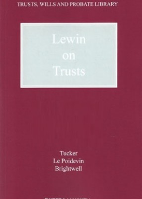 Lewin on Trusts (19ed) 4th Supplement 2018