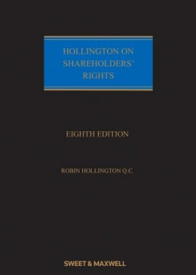 Hollington on Shareholders Rights (8ed) SET Main work and Supplement 2018