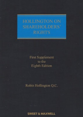 Hollington on Shareholders Rights (8ed) First supplement 2018