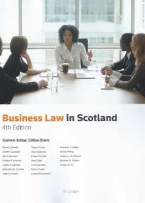 Business Law in Scotland (4ed)
