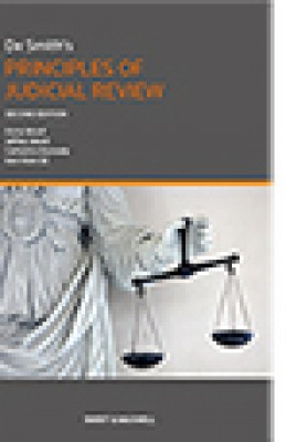 De Smith: Judicial Review of Administrative Action (8ed) Pb