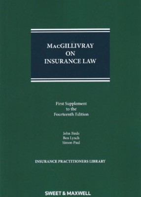 MacGillivray on Insurance Law (14ed) 1st Supplement