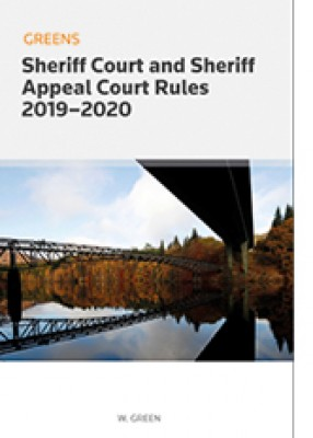 Greens Sheriff Court and Sheriff Appeal Court Rules 2019-2020