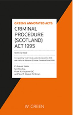 Criminal Procedure (Scotland) Act 1995 (18ed)