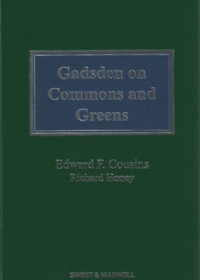 Gadsden and Cousins on Commons and Greens 3ed