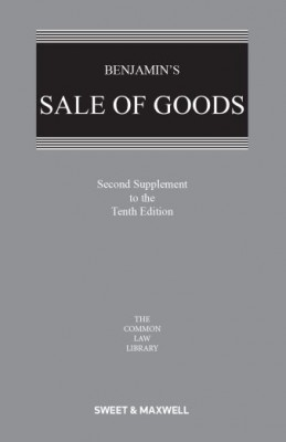Benjamin's Sale of Goods (10ed 2nd Supplement)