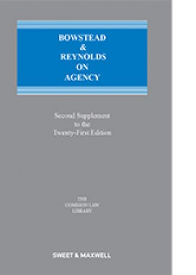 Bowstead and Reynolds on Agency (21ed) Second supplement