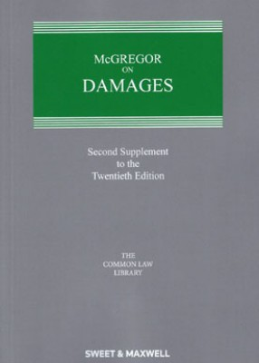 McGregor on Damages (20ed) 2nd Supplement