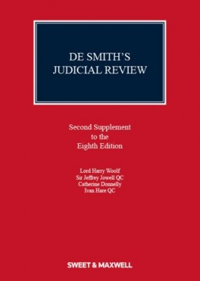 De Smith's Judicial Review 8th ed: 2nd Supplement