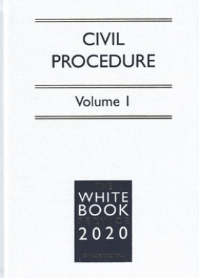 White Book Service 2020: Civil Procedure Volumes 1 & 2