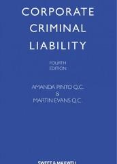 Corporate Criminal Liability (4ed)