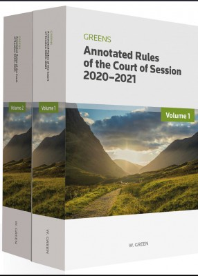Greens Annotated Rules of the Court of Session 2020-2021