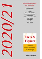 Facts & Figures 2020-2021 (25ed): Tables for the Calculation of Damages