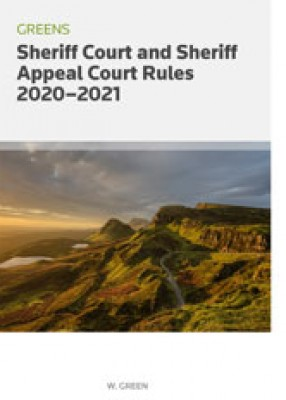 Greens Sheriff Court and Sheriff Appeal Court Rules 2020-2021
