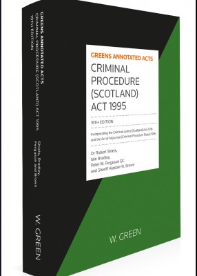 Criminal Procedure (Scotland) Act 1995 (19ed)