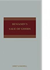 Benjamin's Sale of Goods (11ed)