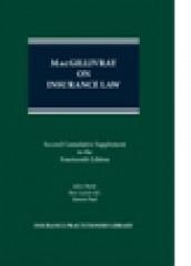 MacGillivray on Insurance Law (14ed) 2nd Supplement