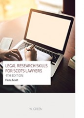Legal Research Skills for Scots Lawyers (4ed)