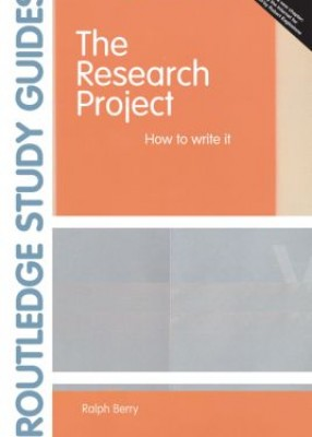 Research Project How to Write it