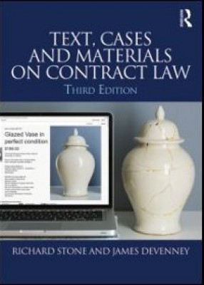 Text, Cases and Materials on Contract Law (3ed)
