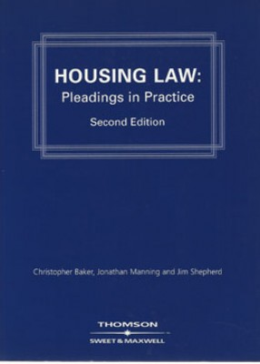 Housing Law: Pleadings in Practice (2ed)