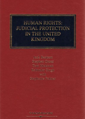 Grosz Beatson & Duffy on Human Rights: Judicial Protection in the United Kingdom (2ed)