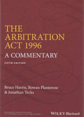 Arbitration Act 1996: A Commentary 5th ed