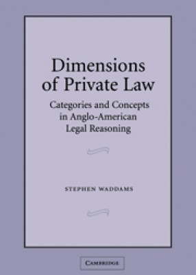 Dimensions of Private Law: Categories & Concepts Anglo-American Reason