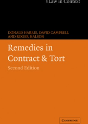 Remedies in Contract & Tort (2ed)
