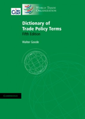 Dictionary of Trade Policy Terms (5ed)