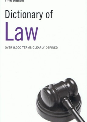 Dictionary of Law (5ed)