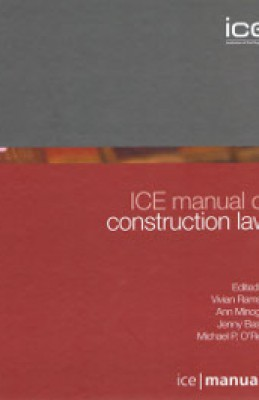 ICE Manual of Construction Law