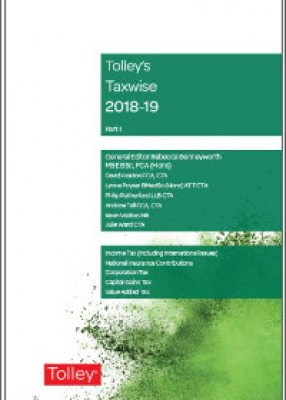 Tolley's Taxwise I 2018-2019