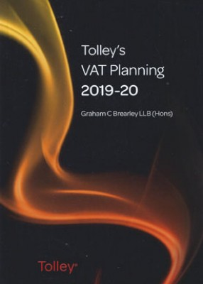 Tolley's VAT Planning 2019-2020