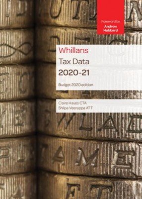 Whillan's Tax Data 2020-21(Budget edition) (TSB)