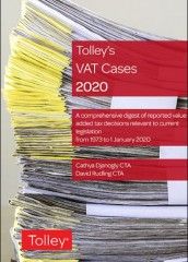 Tolley's VAT Cases 2020