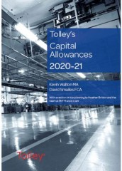 Tolley's Capital Allowances 2020-2021
