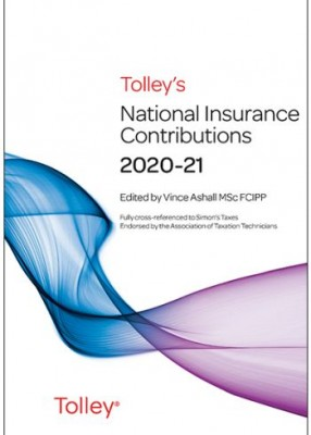 Tolley's National Insurance Contributions 2020-2021 Main Annual