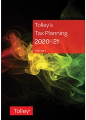 Tolley's Tax Planning 2020-2021 (2 volumes)