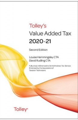Tolley's Value Added Tax 2020-21 2nd ed only