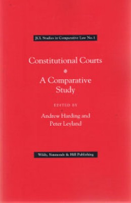 Constitutional Courts: A Comparative Study