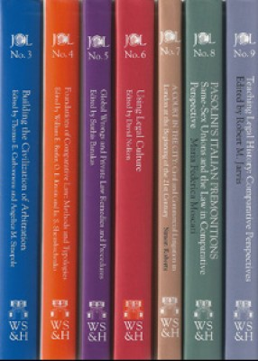 JCL Studies in Comparative Law Pack: 14 Volumes