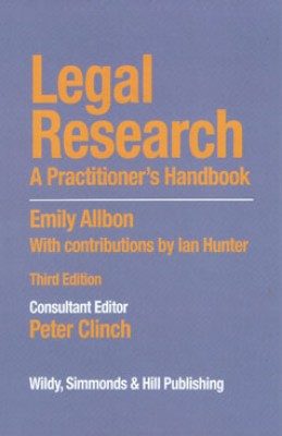 Legal Research: A Practitioner's Handbook (3ed)